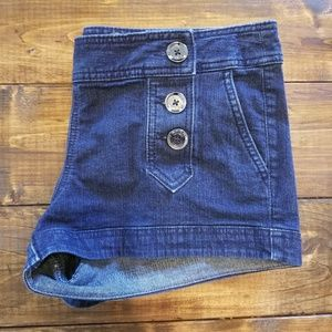 Express denim shorts